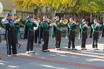 Band plays at Open House