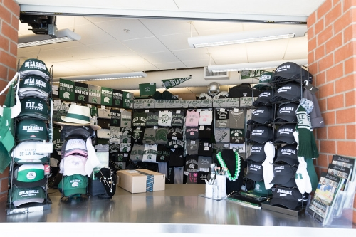 Visit on on-campus Spartan Store, adjacent to the Hofmann.